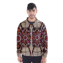 Pattern Round Abstract Geometric Wind Breaker (men)