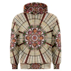Pattern Round Abstract Geometric Men s Overhead Hoodie