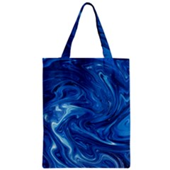 Abstract Pattern Texture Art Zipper Classic Tote Bag