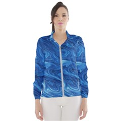 Abstract Pattern Texture Art Wind Breaker (women)