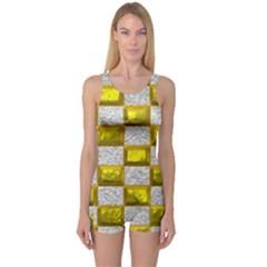 Pattern Desktop Square Wallpaper One Piece Boyleg Swimsuit