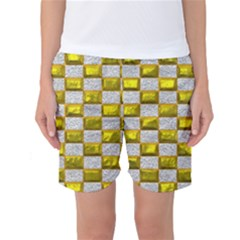 Pattern Desktop Square Wallpaper Women s Basketball Shorts