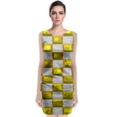 Pattern Desktop Square Wallpaper Classic Sleeveless Midi Dress