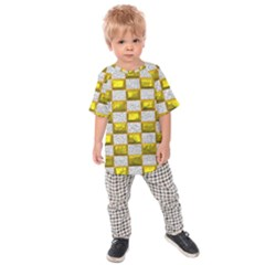Pattern Desktop Square Wallpaper Kids Raglan Tee