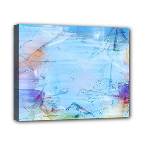 Background Art Abstract Watercolor Canvas 10  X 8  by Nexatart