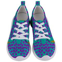 Raining Love And Hearts In The  Wonderful Sky Women s Lightweight Sports Shoes