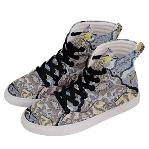 Men s Hi-Top Skate Sneakers