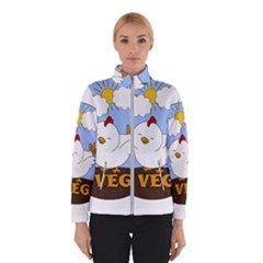 Go Vegan   Cute Chick  Winterwear by Valentinaart