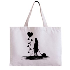 Sowing Love Concept Illustration Small Mini Tote Bag by dflcprints