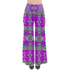 Spring Time In Colors And Decorative Fantasy Bloom Pants by pepitasart