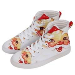 Santa Claus 1827265 1920 Women s Hi Top Skate Sneakers by vintage2030