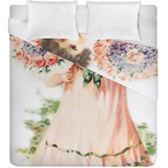 Girl 1731727 1920 Duvet Cover Double Side (king Size) by vintage2030