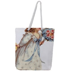 Child 1718357 1920 Full Print Rope Handle Tote (large) by vintage2030