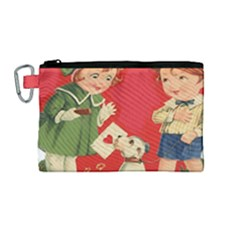 Children 1731738 1920 Canvas Cosmetic Bag (medium) by vintage2030