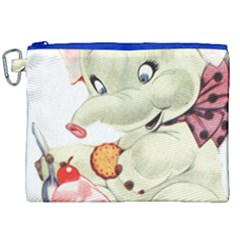 Elephant 1650653 1920 Canvas Cosmetic Bag (xxl) by vintage2030