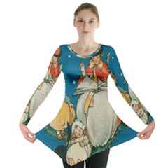 Witch 1461949 1920 Long Sleeve Tunic  by vintage2030