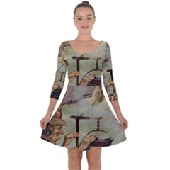 Witch 1461958 1920 Quarter Sleeve Skater Dress by vintage2030