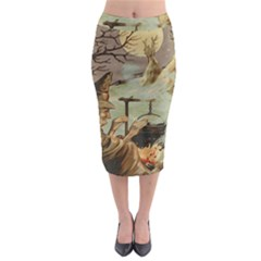 Witch 1461958 1920 Midi Pencil Skirt by vintage2030