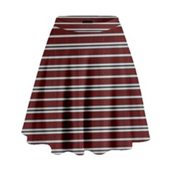 Indian Stripes High Waist Skirt by jumpercat