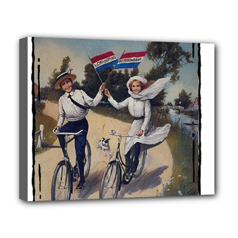 Kids 1763423 1280 Deluxe Canvas 20  X 16   by vintage2030