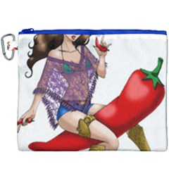Quente Canvas Cosmetic Bag (xxxl) by belezabrazuca70