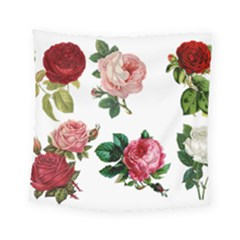 Roses 1770165 1920 Square Tapestry (small) by vintage2030