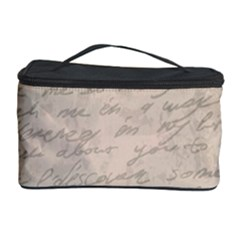 Letter Cosmetic Storage Case by vintage2030