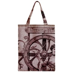 Lottery Zipper Classic Tote Bag by vintage2030