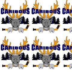 Caribous Minor Hockey (white) Fabric