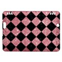 SQUARE2 BLACK MARBLE & PINK GLITTER Kindle Fire HDX Hardshell Case View1