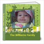 williams family - 8x8 Photo Book (20 pages)