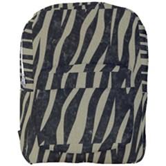 Skin3 Black Marble & Khaki Fabric (r) Full Print Backpack by trendistuff