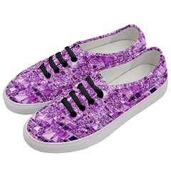 Modern Geo Fun,lilac Women s Classic Low Top Sneakers by MoreColorsinLife