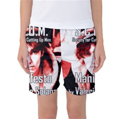 Valerie Solanas Women s Basketball Shorts by Valentinaart