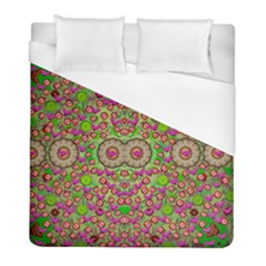 Love The Wood Garden Of Apples Duvet Cover (full/ Double Size) by pepitasart