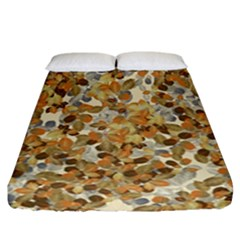 Leaves Autumm Fitted Sheet (california King Size) by jumpercat