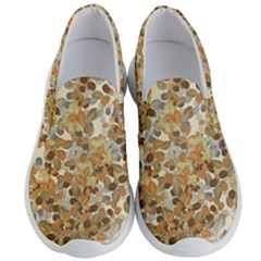 Leaves Autumm Men s Lightweight Slip Ons by jumpercat