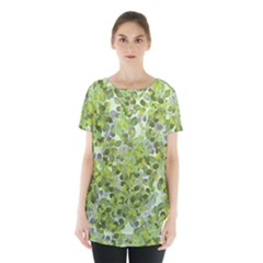Leaves Fresh Skirt Hem Sports Top by jumpercat