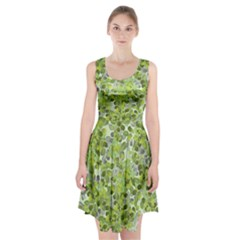 Leaves Fresh Racerback Midi Dress