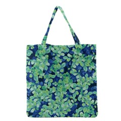 Moonlight On The Leaves Grocery Tote Bag by jumpercat