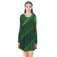 Background Light Glow Green Flare Dress