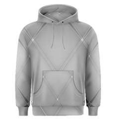 Background Light Glow White Grey Men s Pullover Hoodie