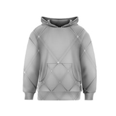 Background Light Glow White Grey Kids  Pullover Hoodie