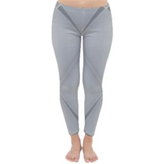 Background Light Glow White Grey Classic Winter Leggings