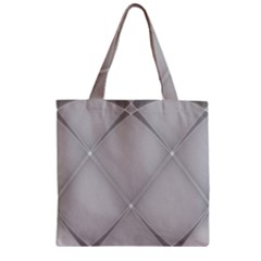 Background Light Glow White Grey Zipper Grocery Tote Bag