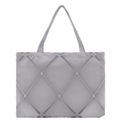 Background Light Glow White Grey Medium Tote Bag