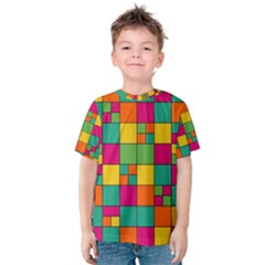 Abstract Background Abstract Kids  Cotton Tee