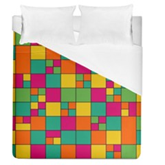 Abstract Background Abstract Duvet Cover (queen Size)