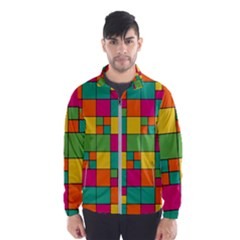 Abstract Background Abstract Wind Breaker (men)