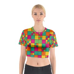 Abstract Background Abstract Cotton Crop Top